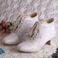 Matrimonio Lace-up Lace-up Boots Chunky Heel