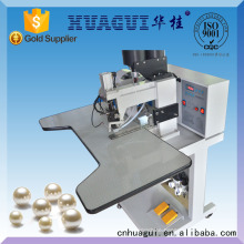 HUAGUI two colors pearl attaching machine for sale