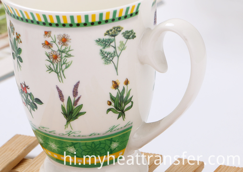 European Designer tea mug
