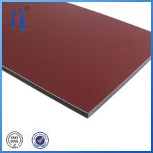 Material de construcción Panel de aluminio compuesto de revestimiento de pared