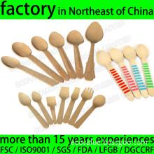 Disposable Bamboo Spoon, Bamboo Coffee/Tea/Tasting/Chocolate Spoon