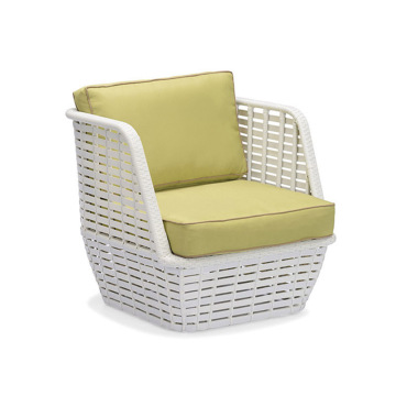 Leisure Wicker Patio Chair Ottoman