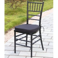 Black Resin Chiavari Chair for Event Rentals