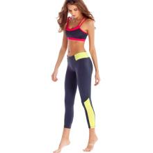 Kundenspezifische Trägershirts und Yoga-Hosen-Großverkauf-Eignung-Kleidungs-Yoga-Abnutzung