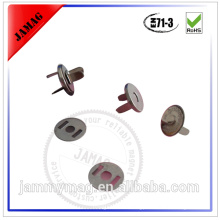 hot sale metal shell magnet button snaps for leather