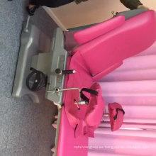 AG-C102D-1 precio excepcional de la mesa de operaciones ginecológica del hospital con soporte para piernas