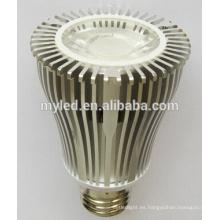 Shell caliente SMD y COB 10w luz del punto del par30 llevada