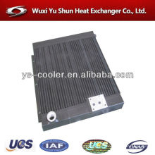 plate and bar air compressor aluminum cooler