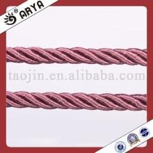 2014 Nueva cuerda de la cubierta de los muebles de interior Proteja el sofá Cordón trenzado del algodón de 3 filamentos