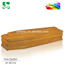Chinese plan good selling made new design Italia style coffin