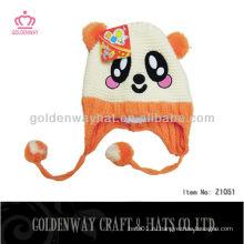 Вязаная детская шляпа