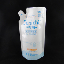 Top Quality PE Stand up Laundry Detergent Zipper Pouches Doypack