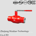 GOST Manual Fully Welded Ball Valve Under Medium Pressure