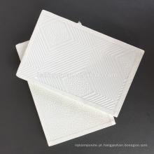 Placa de teto laminado PVC do teto da placa de gipsita