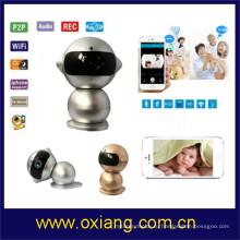 Беспроводной IP-камера монитор внимательности младенца с pir свет