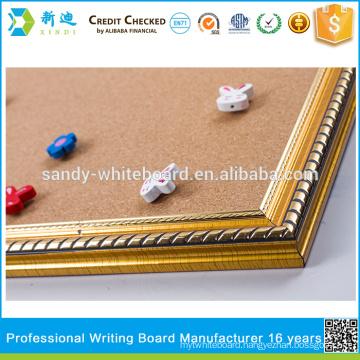 wholesale cork bulletin board cork board size