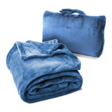 couverture d'oreiller en peluche 2 en 1 pour siège d'auto
