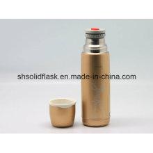 18/8 Flacon à vide en acier inoxydable Solidware Svf-500rl2