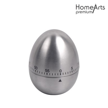 Egg Shaped Kitchen Fridge Magnet Timer