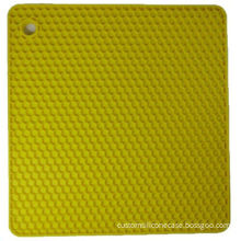 High Strength 3mm New-design Pvc Table Mat Silicone Coasters With Promotion Gifts