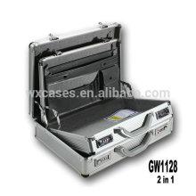 novo design 2 em 1 maleta de alumínio de alta qualidade fábrica de China