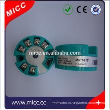 MICC 101T tipo pt100 transmisor de temperatura 4-20 ma para la venta