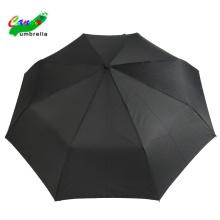 3 folding hat black color umbrella for men
