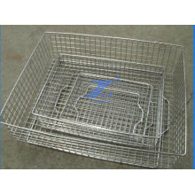 Stainless Wire Mesh Medical Equipment Basket of Varies Type