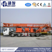 Hft1000st Most Economic and Practical Truck Type Water Well Drilling Rig