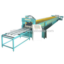 Plataforma de la rejilla de acero que hace la máquina