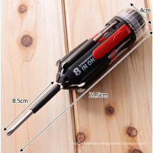 Cheap Price and Flexible Multi-Screwdriver Torch with Phillips and Slotted Head