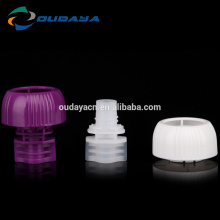 Colorful Mushroom Shaped Baby Cap Child-Proof Lids Plastic Caps And Closures For Beverage Packaging bag