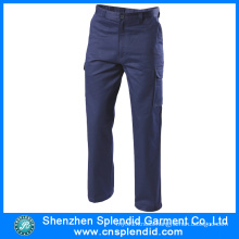 Wholesale Garment Men Cargo Work Cotton Pants with High Quality