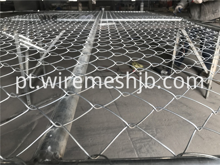 Chain Link Temporary Fence Panel