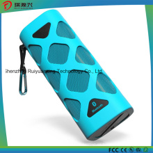 Altavoz Bluetooth portátil con micrófono incorporado (azul)