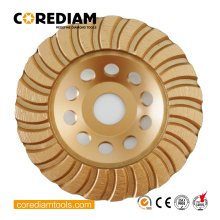 Diamond 150mm Stone Turbo Grinding Cup Wheel