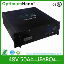 48V 50ah LiFePO4 Battery for Telecom Backup Power Supply
