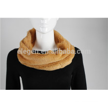 100% Poliéster Solid Color Infinity Scarf