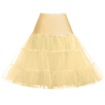 Grace Karin Tutu enaguas falda de crinolina enagua para el vestido de la boda de la boda CL008922-17
