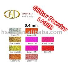 Laser Polyester Glitzer Pulver