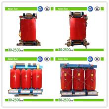 10 kv aislamiento seco tipo transformador (30-2500kVA)