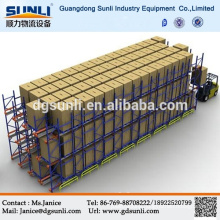 High Density Radio Shuttle Drive In Metal Storage Racking