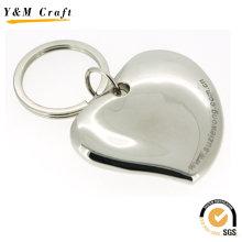 Neue 3D Herzform Metall Schlüsselanhänger (Y03265)