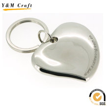 Nouveau porte-clés en métal en forme de coeur 3D (Y03265)