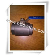 """2 maneiras de soldagem da bola da válvula forjada (1/2 """"-2000WOG)"""