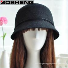 Chapéu de Brim da lã de feltro de Fedora
