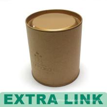 Chinesische Verpackung Box kostenlose Probe benutzerdefinierte Logo gedruckt Runde Papier Rohr Kaffeebohne Verpackung Box