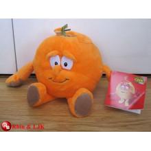 OEM design, giaent fruit soft toy, orange plush toys