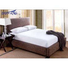 2017 New Designed hotel 100% algodão terry superfície À Prova D 'Água, silencioso e respirável lençol