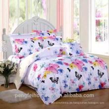 100% Polyester bedrucktes Gewebe für Bettwäsche